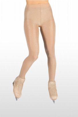 buy online store Skating OVER THE BOOT LUREX TIGHTS 40 DEN