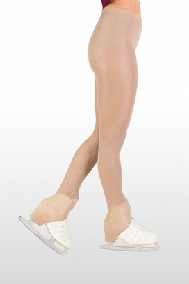 buy online store Skating OVER THE HEEL TIGHTS WITH LUREX 40 DEN