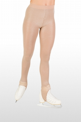 buy online store Skating STIRRUP TIGHTS WITH LUREX 40 DEN
